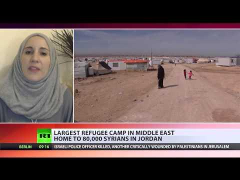 'Dam is going to burst': Jordan seeks help to handle 1.3 mln Syrian refugees