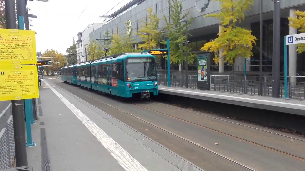 (Frankfurt am Main) U-Bahn 5 - Deutsche Nationalbibliothek ...