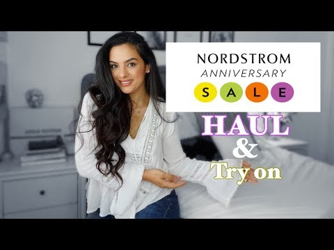 Nordstrom Anniversary Sale Haul! + try on | elle be |