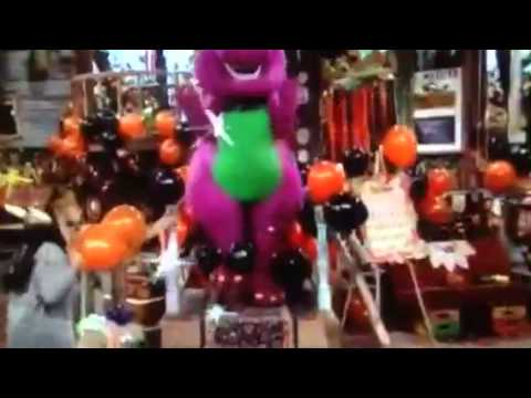 Barney Comes To Life At Home In The Park