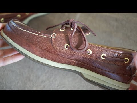 Sperry Top Sider Gold 2 Eye Boat Shoe