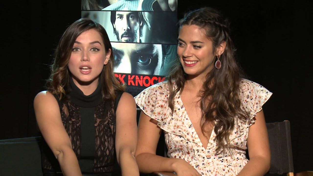Lorenza Izzo And Ana De Armas Invite You To Watch KNOCK