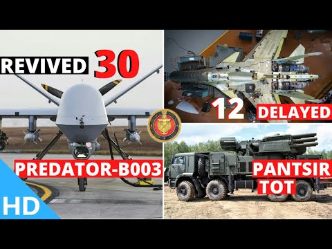 Indian Defence Updates : 30 Predator-B003 Deal,New Pantsir-S