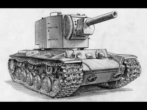 Как нарисовать танк и пушки 4