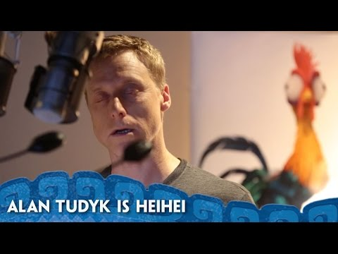 Alan Tudyk's Heihei Recording Session  MoanaMondays