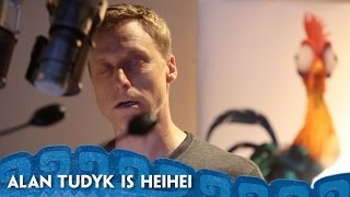 Alan Tudyk's Heihei Recording Session - #MoanaMondays