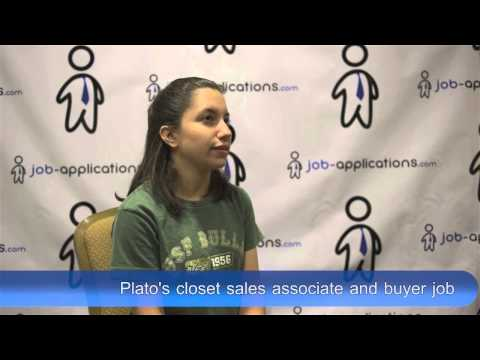 Plato's Closet Interview - Sales Associate and Buyer
