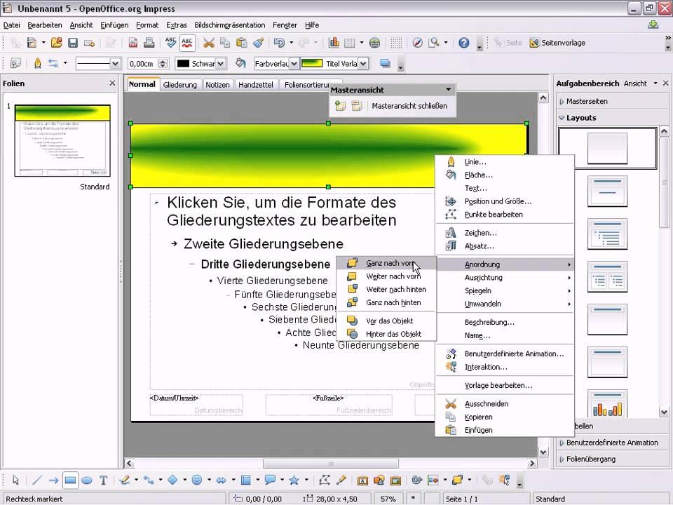 Writer Vorlagen Fur Openoffice Libreoffice 0