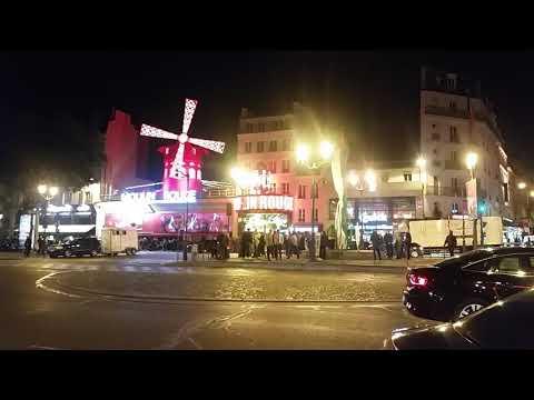 Red light area paris