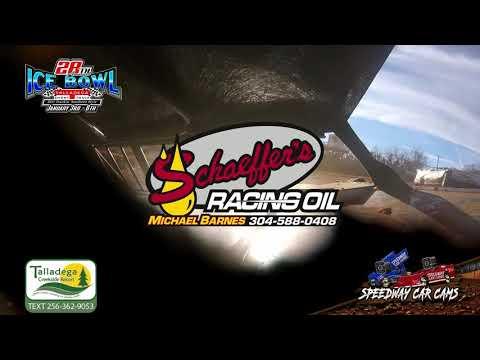 #19 Chris Elliott - 602 Sportsman - 1-6-19 Talladega Short Track - In Car Camera