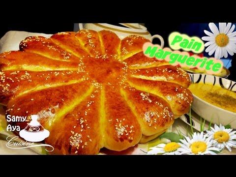 recette-de-pain-marguerite-à-la-farine,-pain-italien-brioché