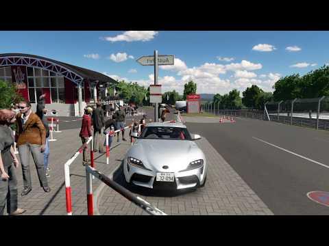 2020 Toyota GR Supra |  Nurburgring Touristenfahrten