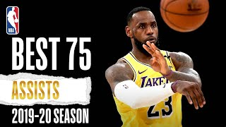 Best 75 ASSISTS | 2019-20 NBA Season