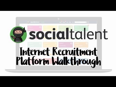 Internet Recruitment & Platform Walkthrough
