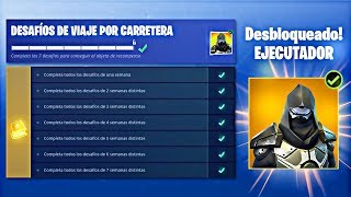 I HAVE COMPLETED THE ROAD TRAVEL CHALLENGES in FORTNITE! - SKIN ROAD TRIP UNLOCKED