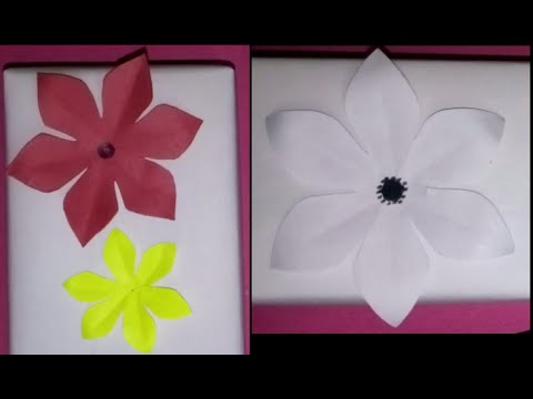 How to cut paper flower petals selol ink how mightylinksfo