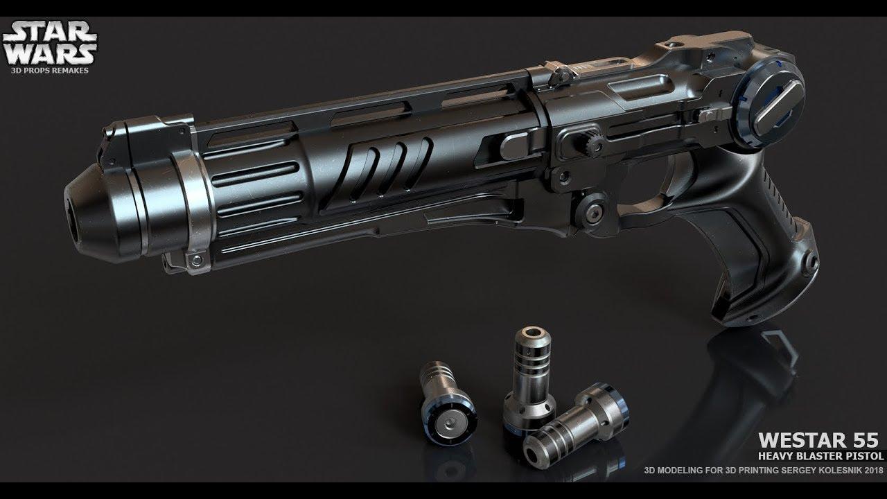 Westar 55 Heavy Blaster Pistol