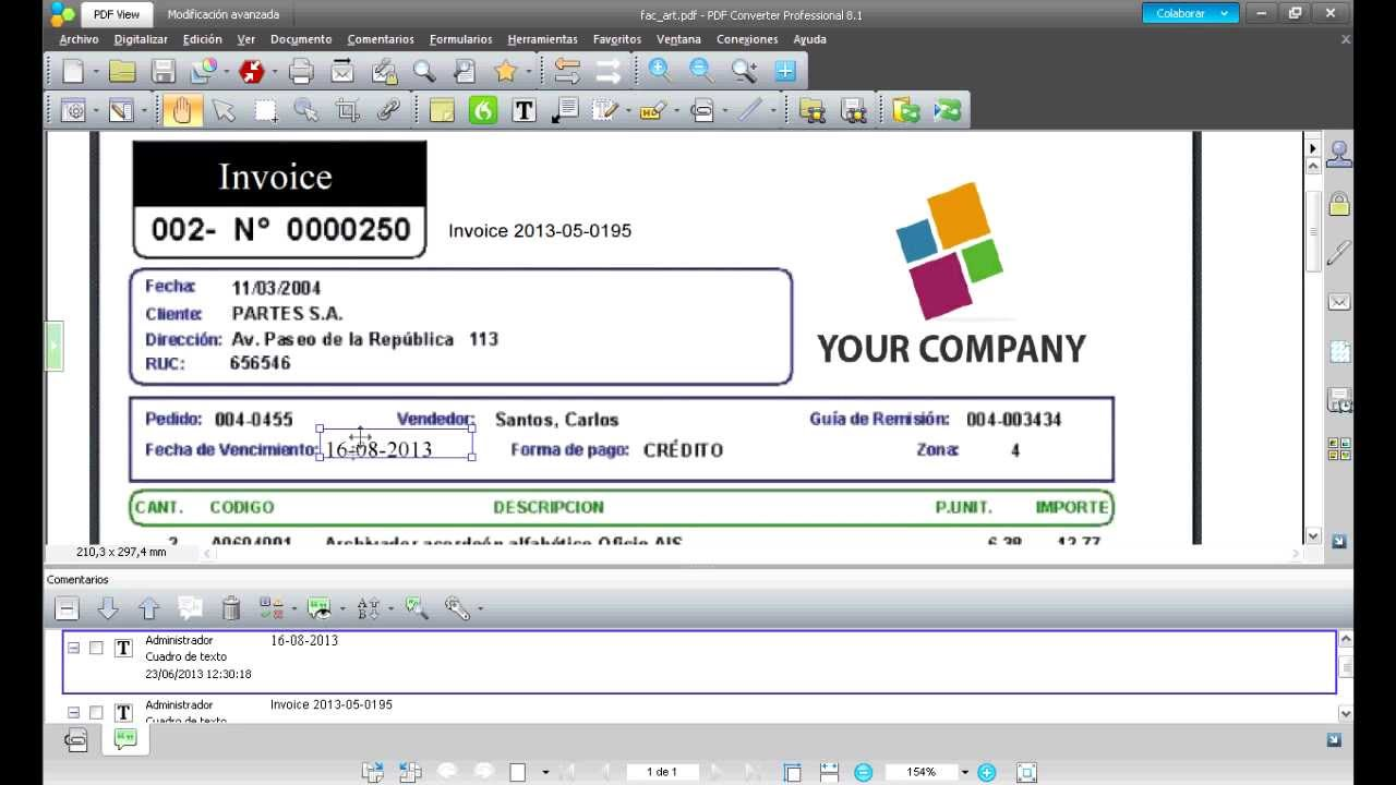 Download Sample Invoice Pdf How To Edit Pdf Files With Nuance Converter  Youtube Receipt Form Word with Free Online Invoice Template Pdf  Honda Accord Invoice