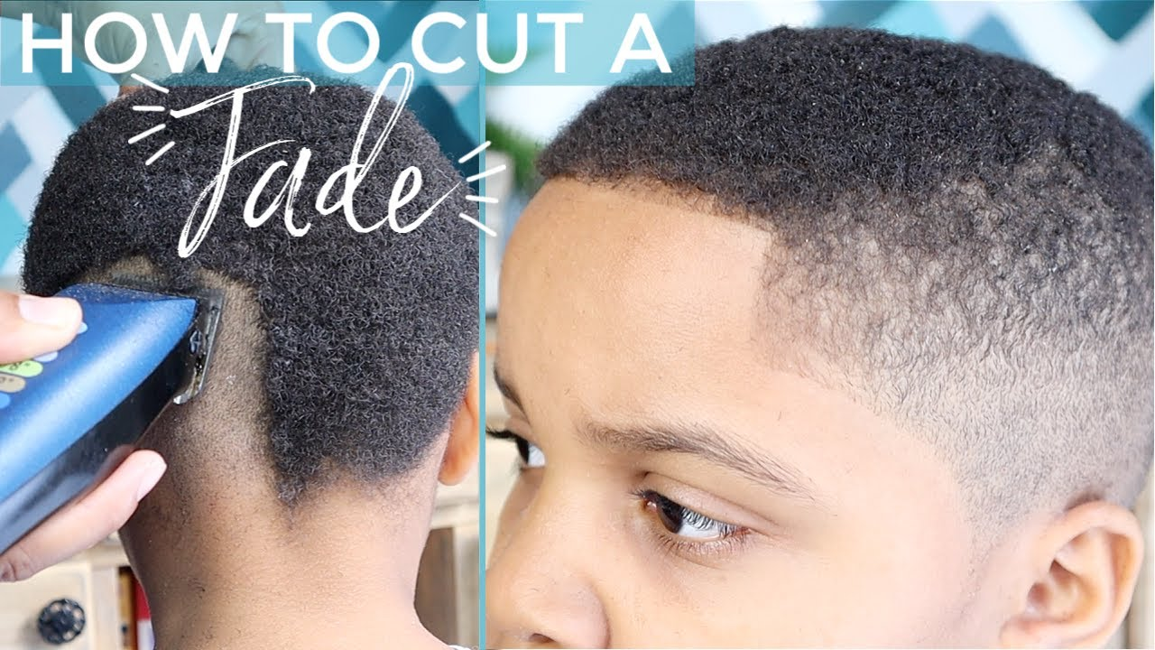 How To Do a Fade Haircut At Home the EASY Way! - YouTube