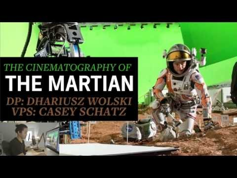 The Cinematography of The Martian DP Dariusz Wolski