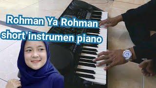 Rohman ya rohman piano instrument