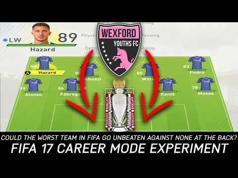 Could the Worst Team in FIFA Go Unbeaten in the EPL Against None at the Back? - FIFA 17 Experiment