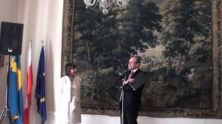 Jolanta Borusiewicz - Wręczenie Złotego Krzyża Zasługi