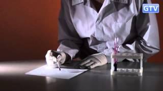 Химический ластик для чернил - химические опыты