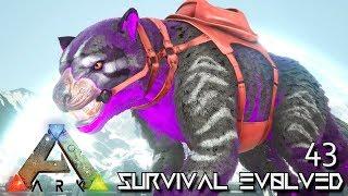 ARK: SURVIVAL EVOLVED - INFERNAL THYLACOLEO EVOLUTION | ARK EXTINCTION ETERNAL E43