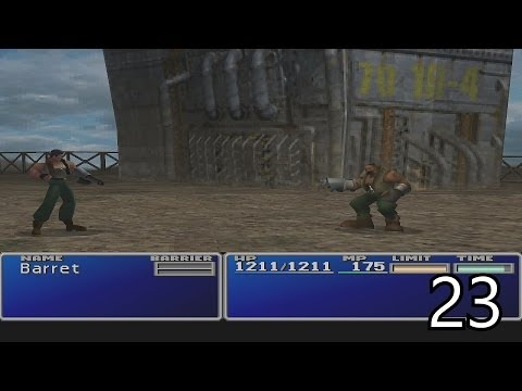 Final Fantasy VII Walkthrough Part 23 - Dyne Boss Battle & Chocobo Races HD