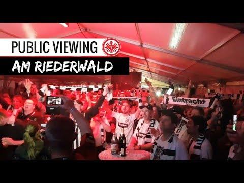 So feiern eintracht-fans den final-einzug   eintracht frankfurt