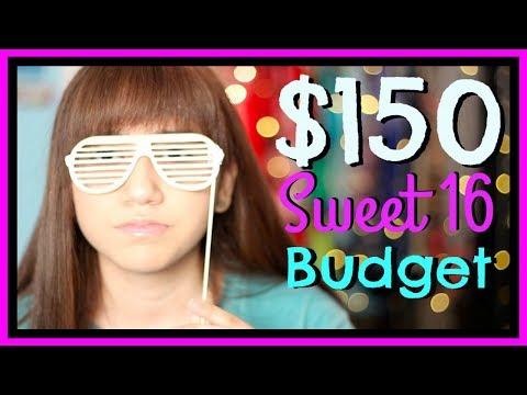 $150 Sweet 16 Budget