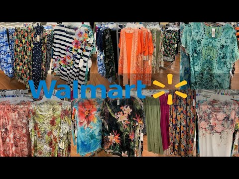 Walmart Clothing | Summer Plus Size Dresses Terra&Sky | Shop With Me June 2019