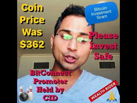 Bitcoin passive investments scam