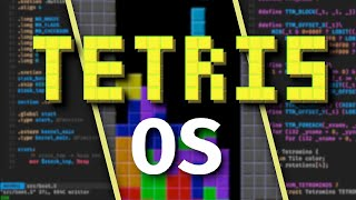 I made an entire OS that only runs Tetris