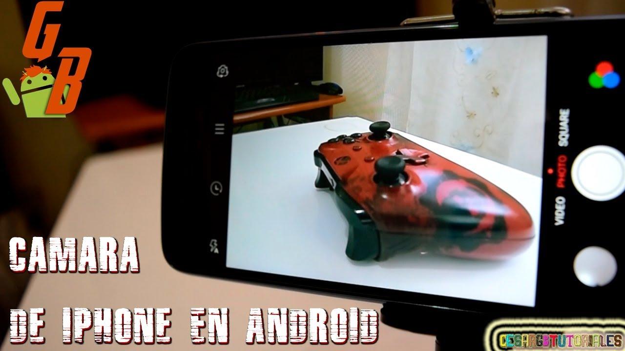 Aplicaciones Camara Iphone Gratis