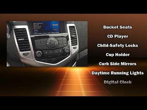 2015 Chevrolet Cruze LT | Bluetooth | Sunroof | Leather