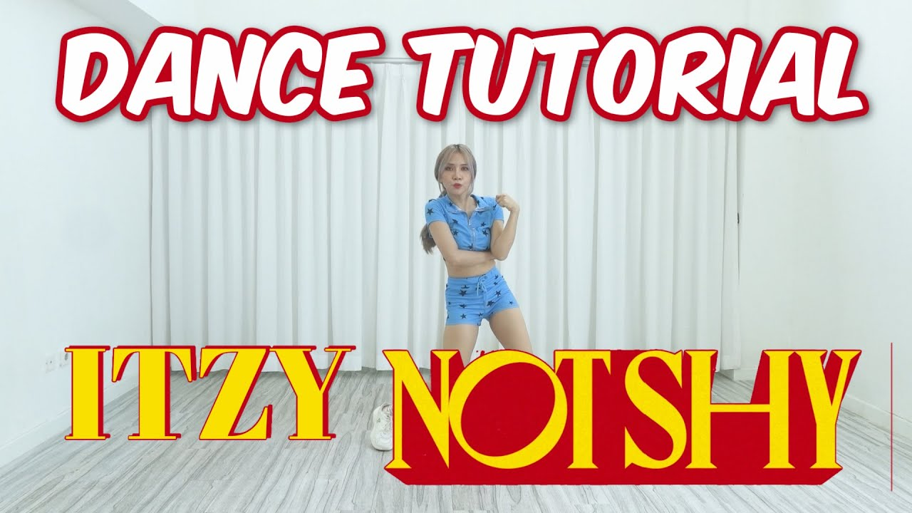 [Mirrored] ITZY - NOT SHY Dance Tutorial | Step by Step ID