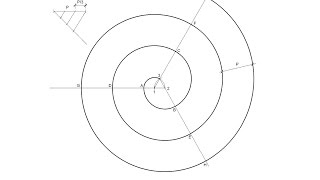 How to draw a involute of a triangle