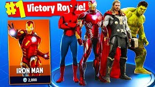 REAL SUPERHEROES in Fortnite: Battle Royale!!