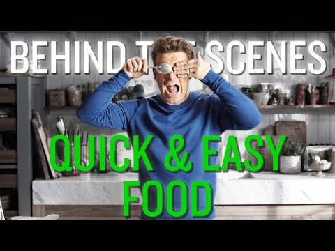 Jamie's New TV Show... The Bloopers | Quick and Easy Food | Channel 4 | UK