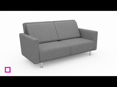 3 In 1 Modern Sofa Bed Interior Styling Youtube