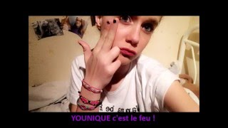 Video ENCRE A LEVRES - YOUNIQUE BY CATHERINE et LAURA download MP3, 3GP, MP4, WEBM, AVI, FLV September 2017