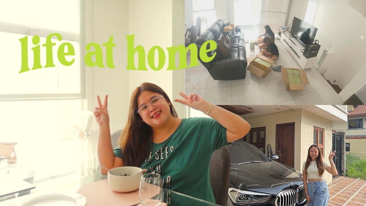 LIFE AT HOME: New Car, Notebook Launch & Simple Days in My Life 🚙💕📔 | Jammy Cruz