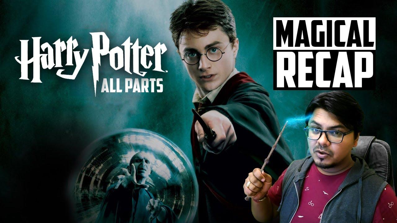 Harry Potter ALL PARTS RECAP   Yogi Bolta Hai