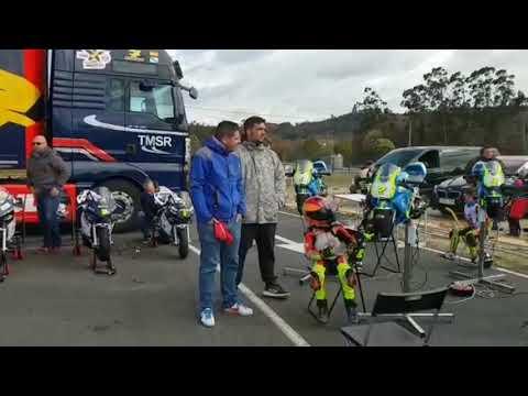 As Pontes pone a prueba a los jóvenes pilotos en la Copa Dani Rivas