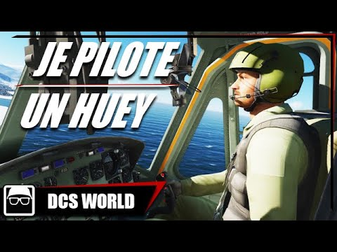 JE PILOTE UN HUEY | DCS World Gameplay FR