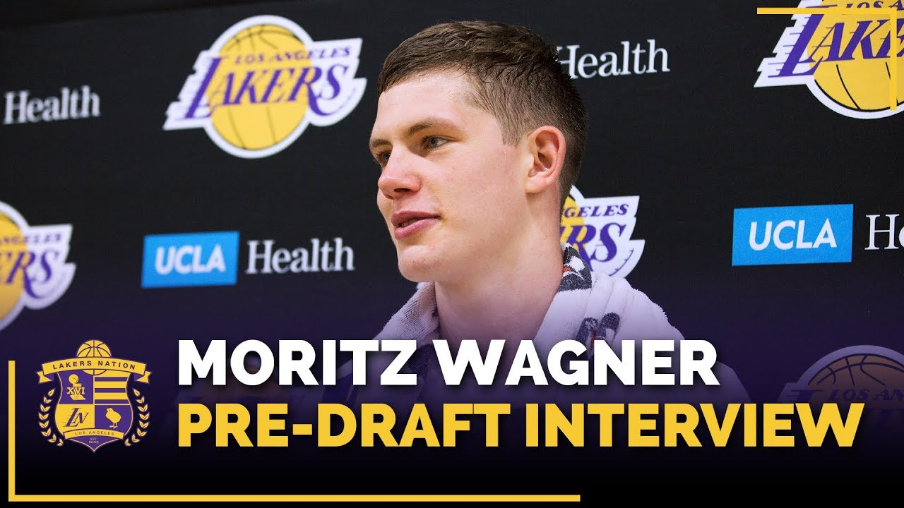 237d8fb03 Michigan Forward Moritz Wagner Lakers Pre-Draft Interview - YouTube