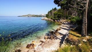 beach Pastrica, Mlini, Croatia