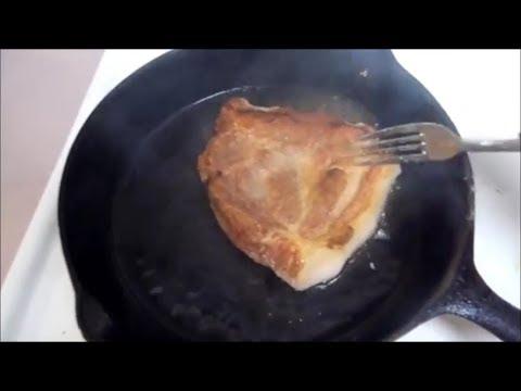 How To Cook Pork Shoulder Steak In A Cast Iron Skillet